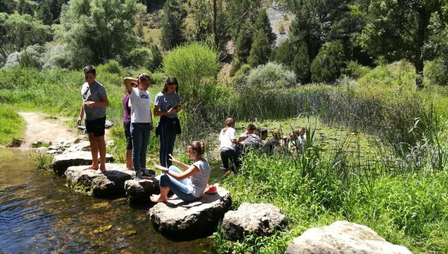 Spanish in Action and in Nature for Teenagers